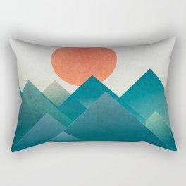 Over the hill Rectangular Pillow
