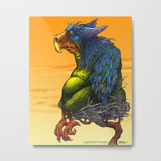Griffin Metal Print