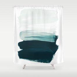 brushstrokes 13 Shower Curtain