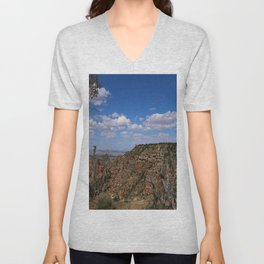 Grand Canyon View From Navajo Point Unisex V-Neck