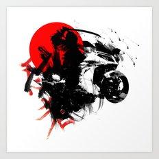 Kawasaki Ninja - Japan Art Print