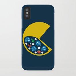 8-Bit Breakfast iPhone Case