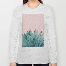 Agave Vibes #5 #tropical #decor #art #society6 Long Sleeve T-shirt