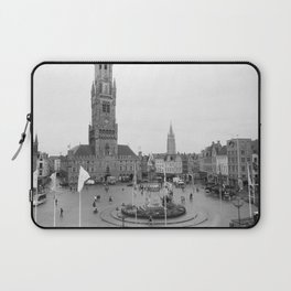 Brugge, Belgium City Center Laptop Sleeve