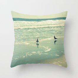 Glistening Sea Throw Pillow