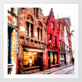 Brugge Belgium Art Print