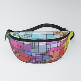 color abstract visualization Fanny Pack