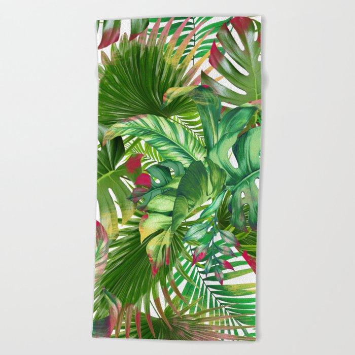 banana life 5 Beach Towel