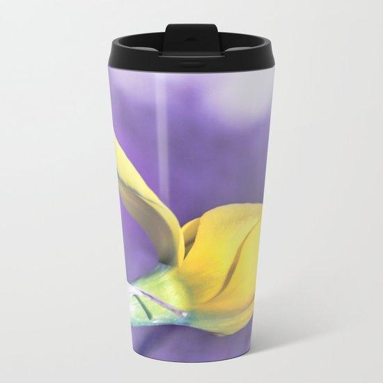 Narcissus bud Metal Travel Mug