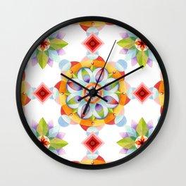 Beaux Arts Mandala Wall Clock