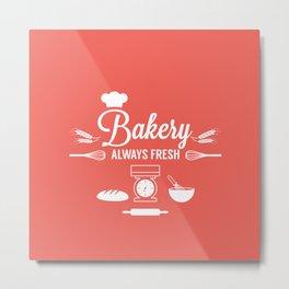 Bakery Metal Print
