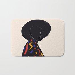 Black hat Bath Mat