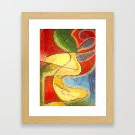 A Beautiful World Through Color Framed Art Print