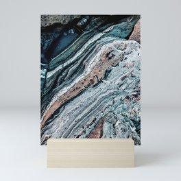 Blue Topography Dream Mini Art Print