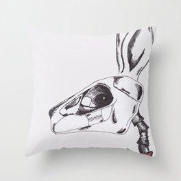 francine the rabbit queen. Throw Pillow