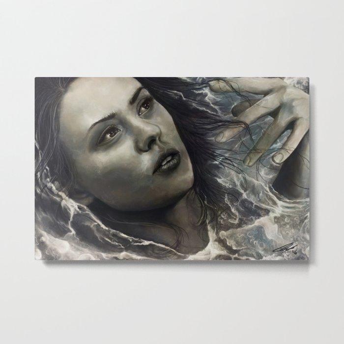 Water of Abdication Metal Print