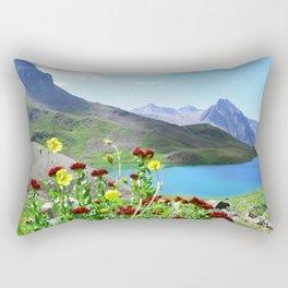 Blue Lakes Rectangular Pillow