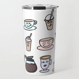 Cafe Friends Travel Mug