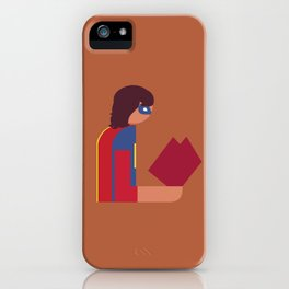 Ms Lady Reads iPhone Case