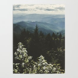 Smoky Mountains - Nature Photography Poster