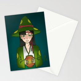 Candlelight Witch Stationery Cards