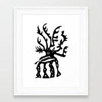 elk Framed Art Prints featuring Elk by k_c_s