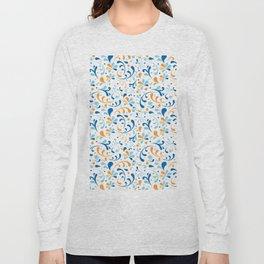 Paisley Swirly Long Sleeve T-shirt