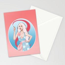 Lipstick Swirl Stationery Cards