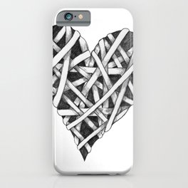 Mended Heart iPhone Case