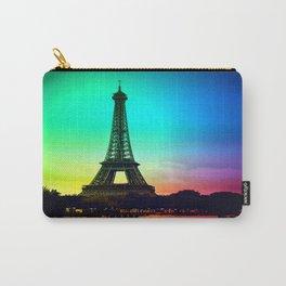 paris Colorful Carry-All Pouch