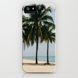 Beach Side Happy Place iPhone Case
