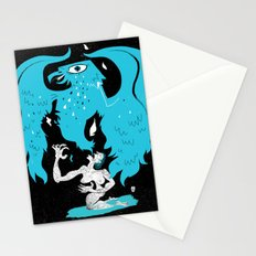 Rebirth (Blue) Stationery Cards