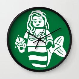 Minifigure Mermaid Wall Clock