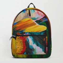 Autumn Streetscape Backpack