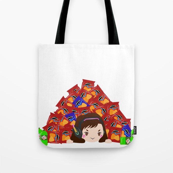 Doritos And D Va Tote Bag