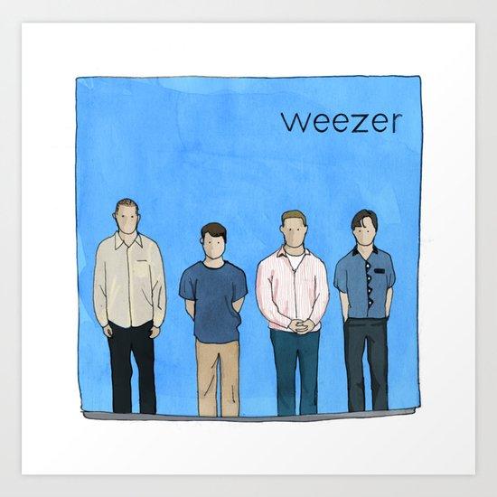 Weezer Art Print
