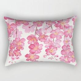 Weeping Cherry Blossom Rectangular Pillow