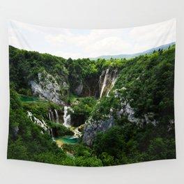 veliki slap waterfall 1 plitvice lakes national park croatia std Wall Tapestry