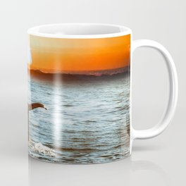 A whale and a morning Coffee Mug