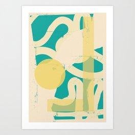 Kuraga Art Print