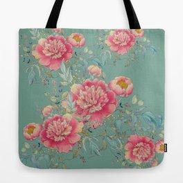 tender gipsy paeonia Tote Bag
