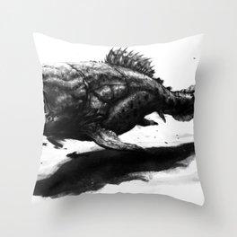 Dunkleosteus terrelli Throw Pillow
