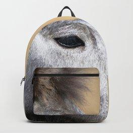 Watercolor Horse 03, Icelandic Pony, Kufhol, Iceland, Greyling Backpack