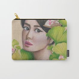 Gingko Girl Carry-All Pouch