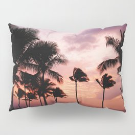 Palm Tree Sunset Pillow Sham