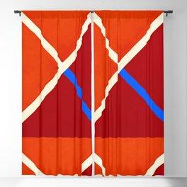 Abstraction_COLOUR_BLOCKS02 Blackout Curtain