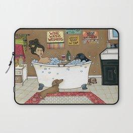 Wieners in the Tub Laptop Sleeve
