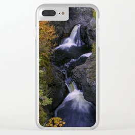 Cascades in the Fall Clear iPhone Case