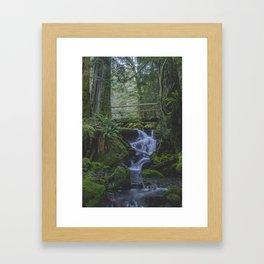 Copper Creek Bridge Framed Art Print