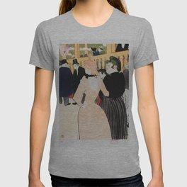 Henri Toulouse Lautrec / Au Moulin Roug, la Goulue et sa soeur T-shirt